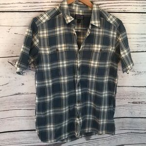PATAGONIA med flannel short sleeves